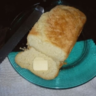 Luscious bread - healthy recipe